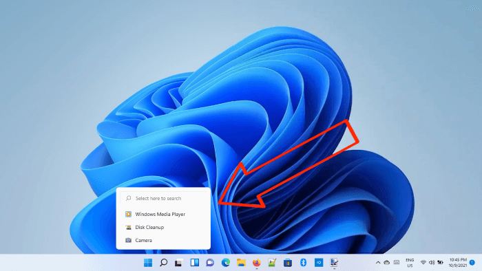 disable search icon history Windows 11
