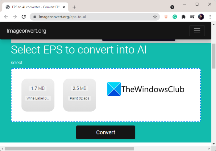Convert EPS to AI using these free online EPS to AI converter tools