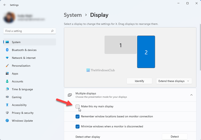 How to move Taskbar to second monitor on Windows 11